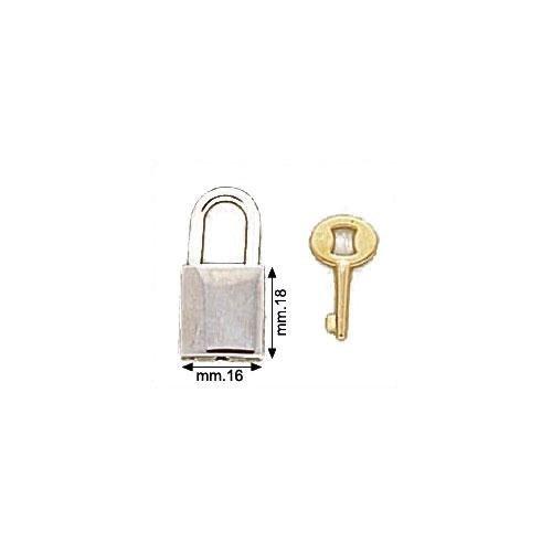 3M21086 - Lucchetto in zama con chiave