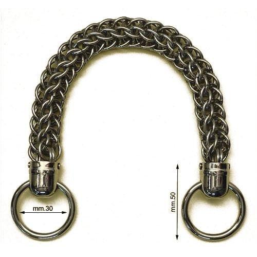 3M26629 - Manico in ferro con anelli