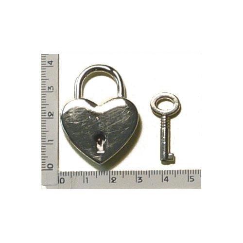 3M25599 - Lucchetto in zama con chiave