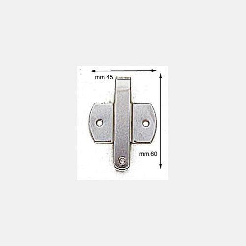 3M5642 - Attacco in ferro per gruccia porta abiti