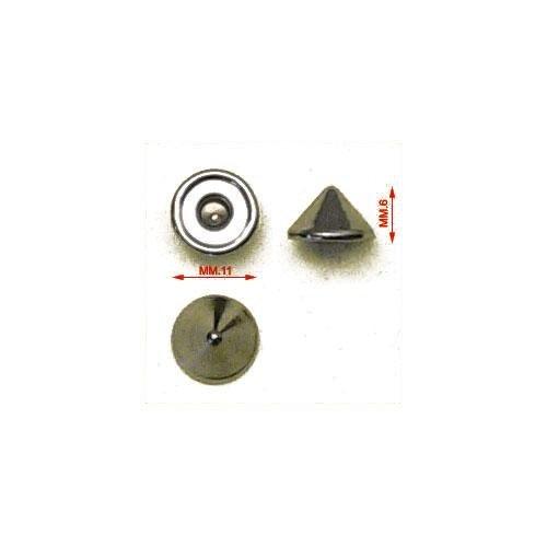 3MT36CONOA - Testa rivetto 036, tipo cono alto, in materiale ferro, disponibile anche nella misura 033