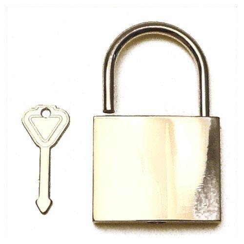 3M24970 - Lucchetto in zama con chiave