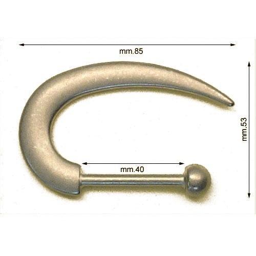 3M26285 - Gancio in zama mm.40