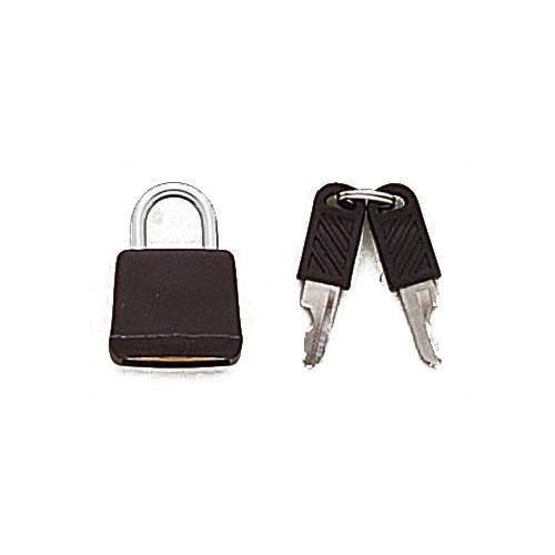 3M22346 - Lucchetto in ottone rivestito in plastica con chiavi