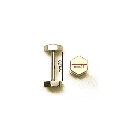 3M26247 - Barretta filettata con 2 dadi