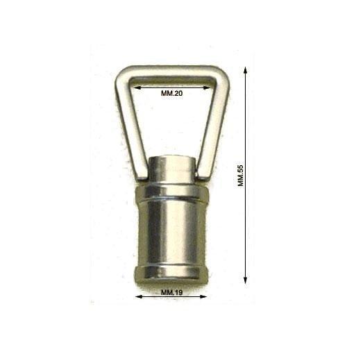 3M27324 - Attacco in zama mm.20 con alette