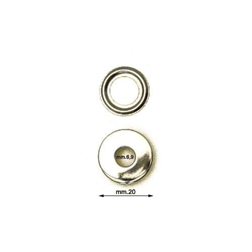 3M26414 - Occhiello areatore VL40 in ottone con ranella