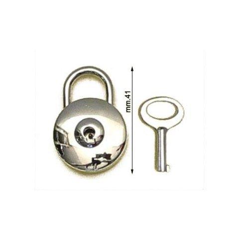 3M26386 - Lucchetto in zama con chiave