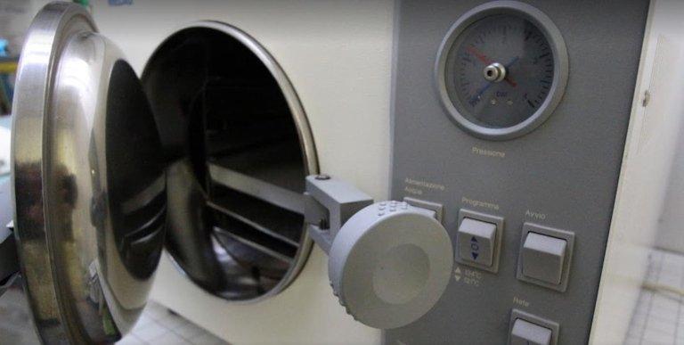 sterilizzatore per laboratorio
