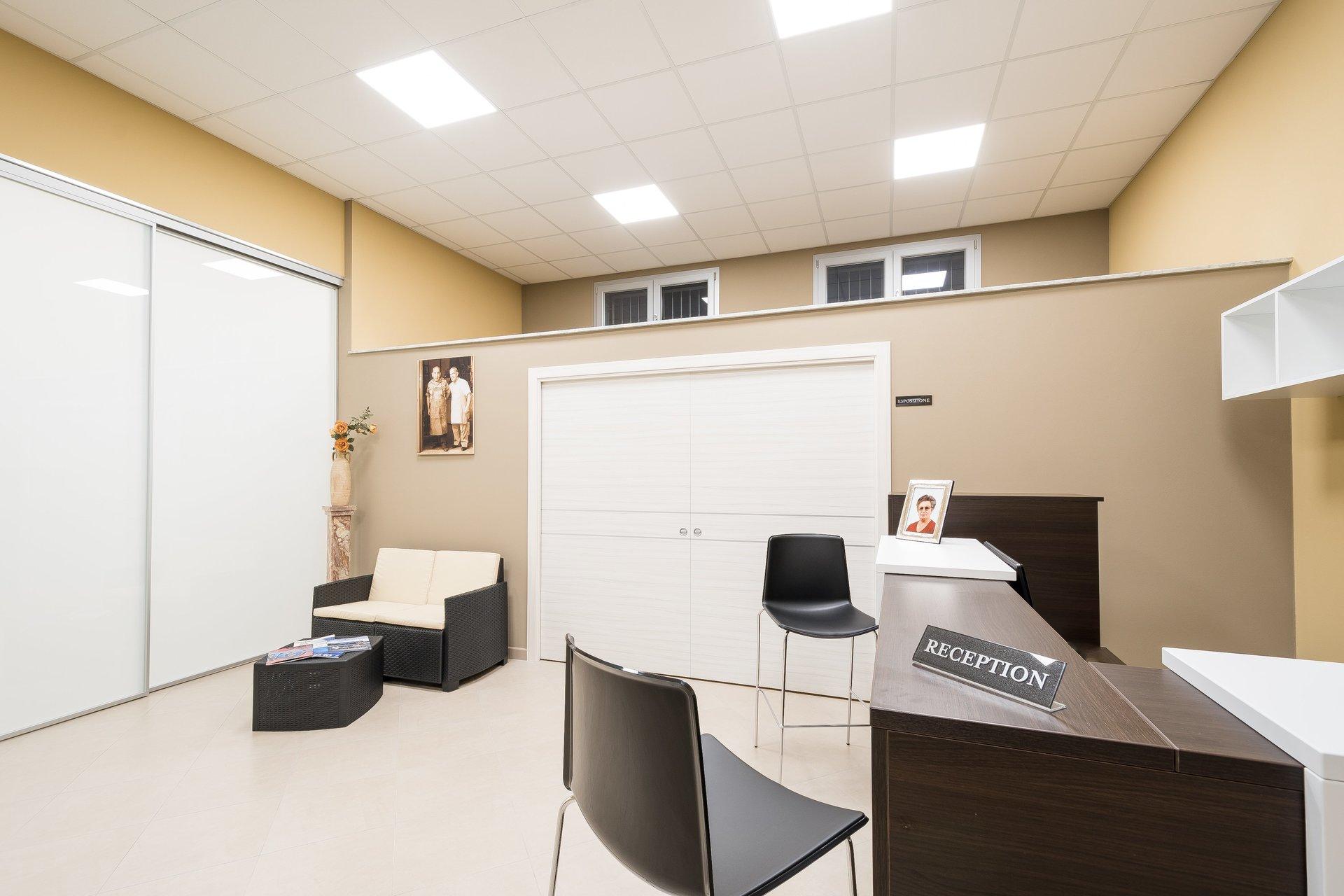 Sala di accoglienza e di attesa