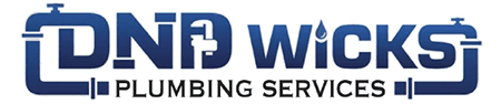 dnd wicks plumbing services brand logo