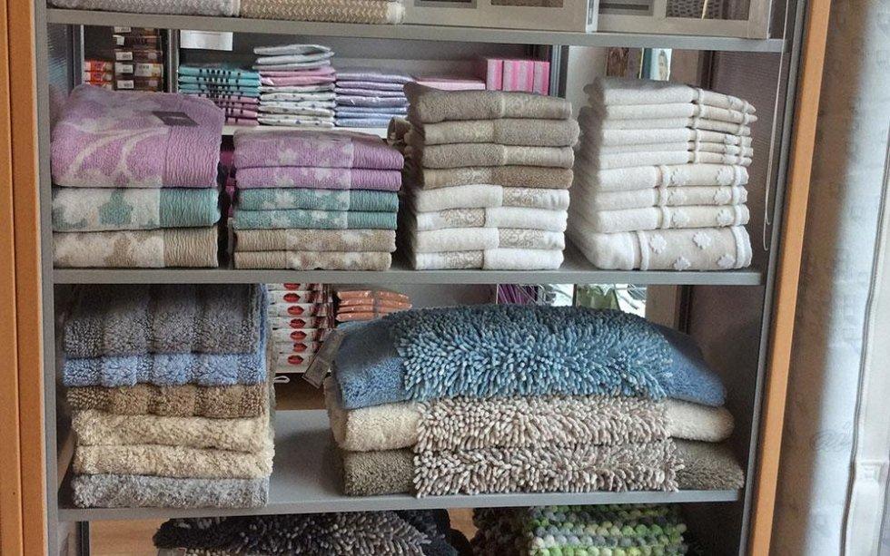 asciugamani e tappeti