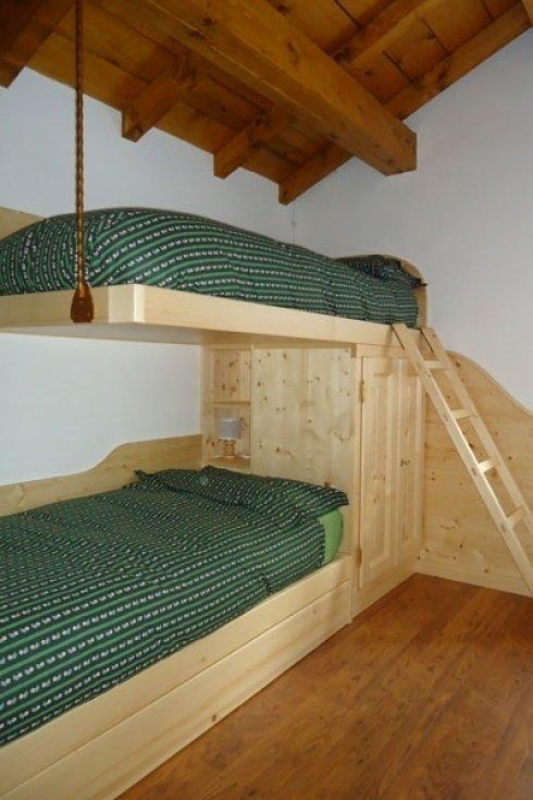 Letti a castello in legno