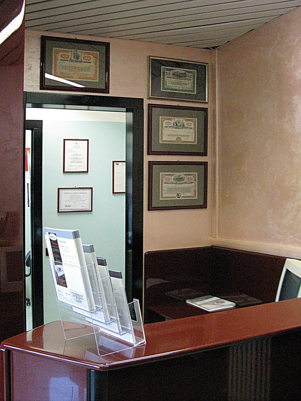 reception del dentista