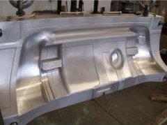 superficie in metallo