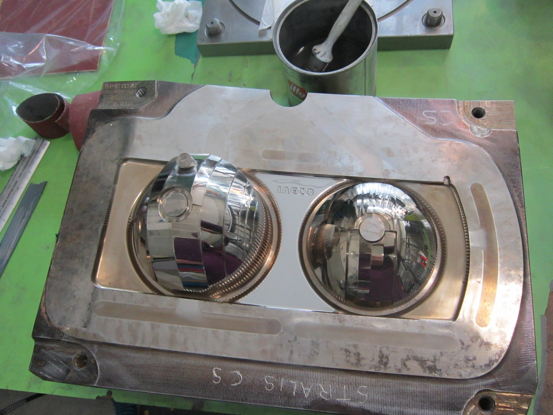 componente metallica automotive