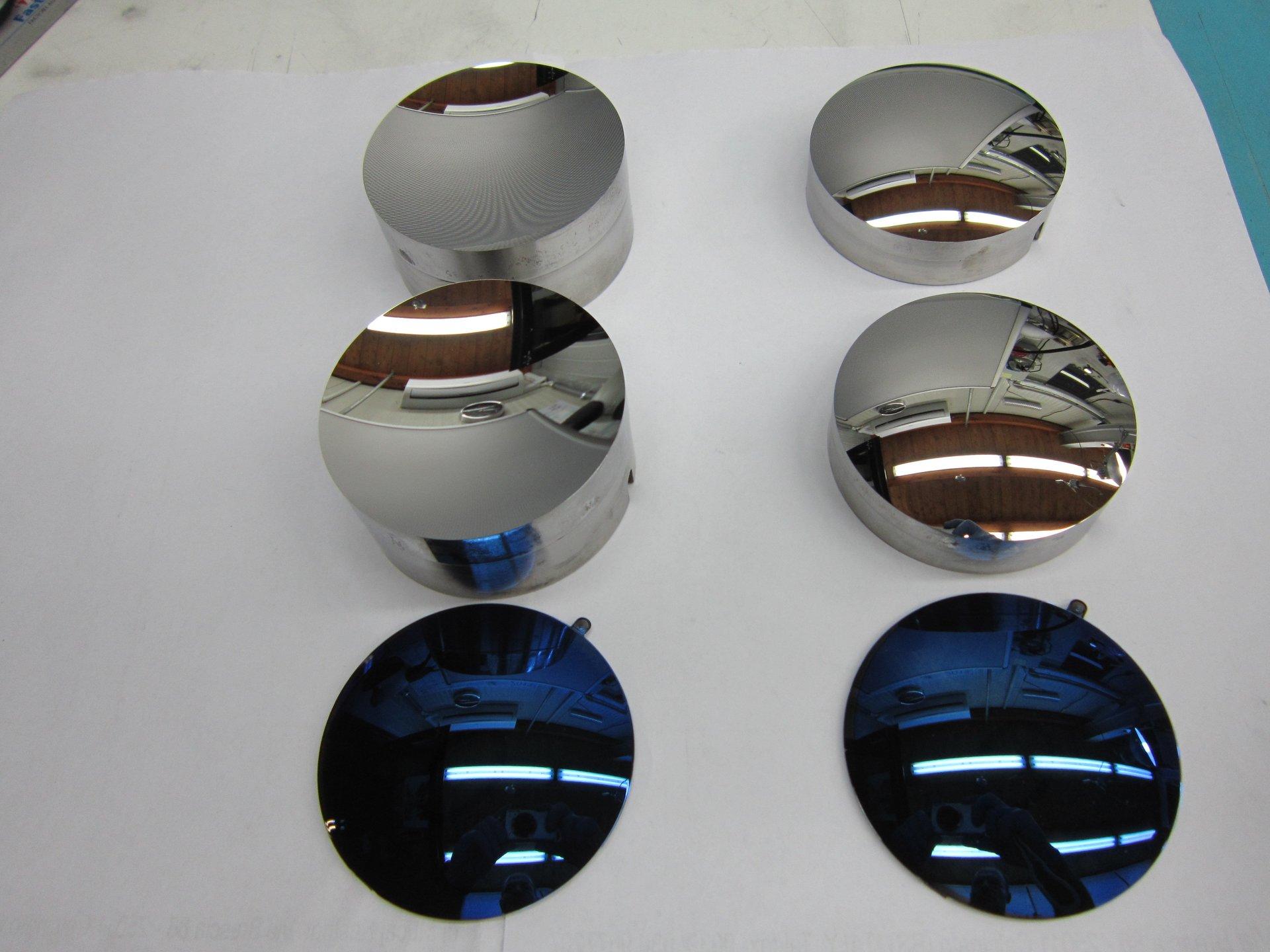componenti di acciaio dopo lappatura