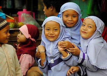 Indonesien Java Reise Kinder
