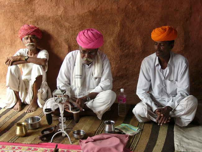 Indien Rajasthan Bishnoi Tour