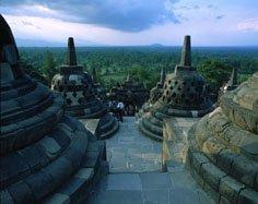 Indonesien Java Borobudur
