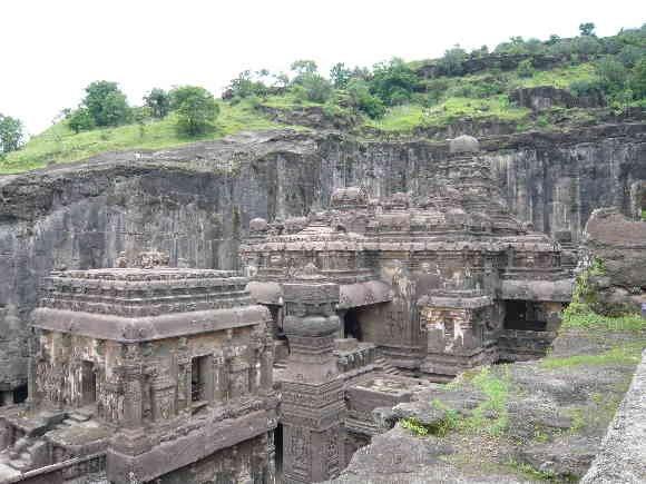 Indien Reise Ellora Höhlen