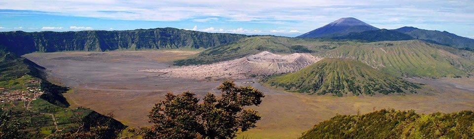 Indonesien Java Bromo Vulkan