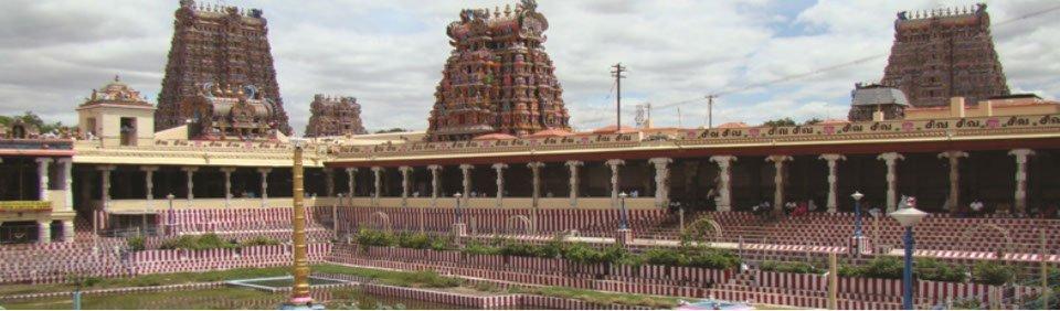 Tempel bei Madurai, Südindien