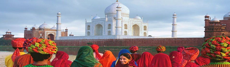 Taj Mahal in Agra bei Nordindienreise