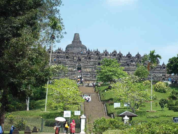 Indonesien Java Reise Borobudur