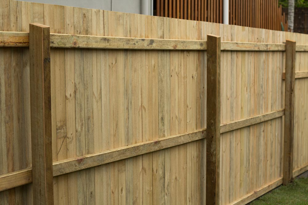 brand new fence