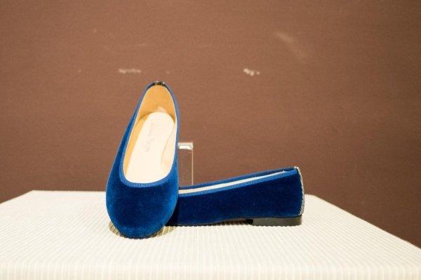 scarpe BLU DONNA ARTIGIANALI PELLETTERIA LINEA AM SARZANA