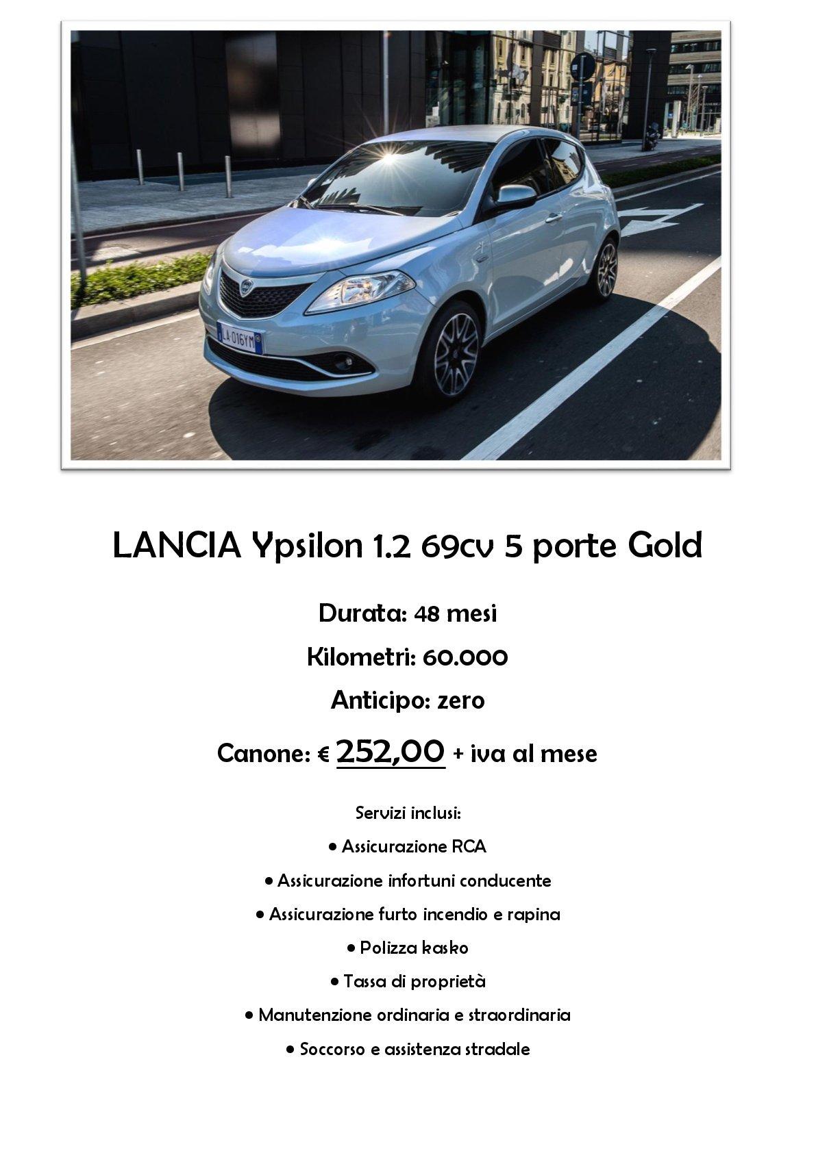 Promozione Lancia Ypsilon