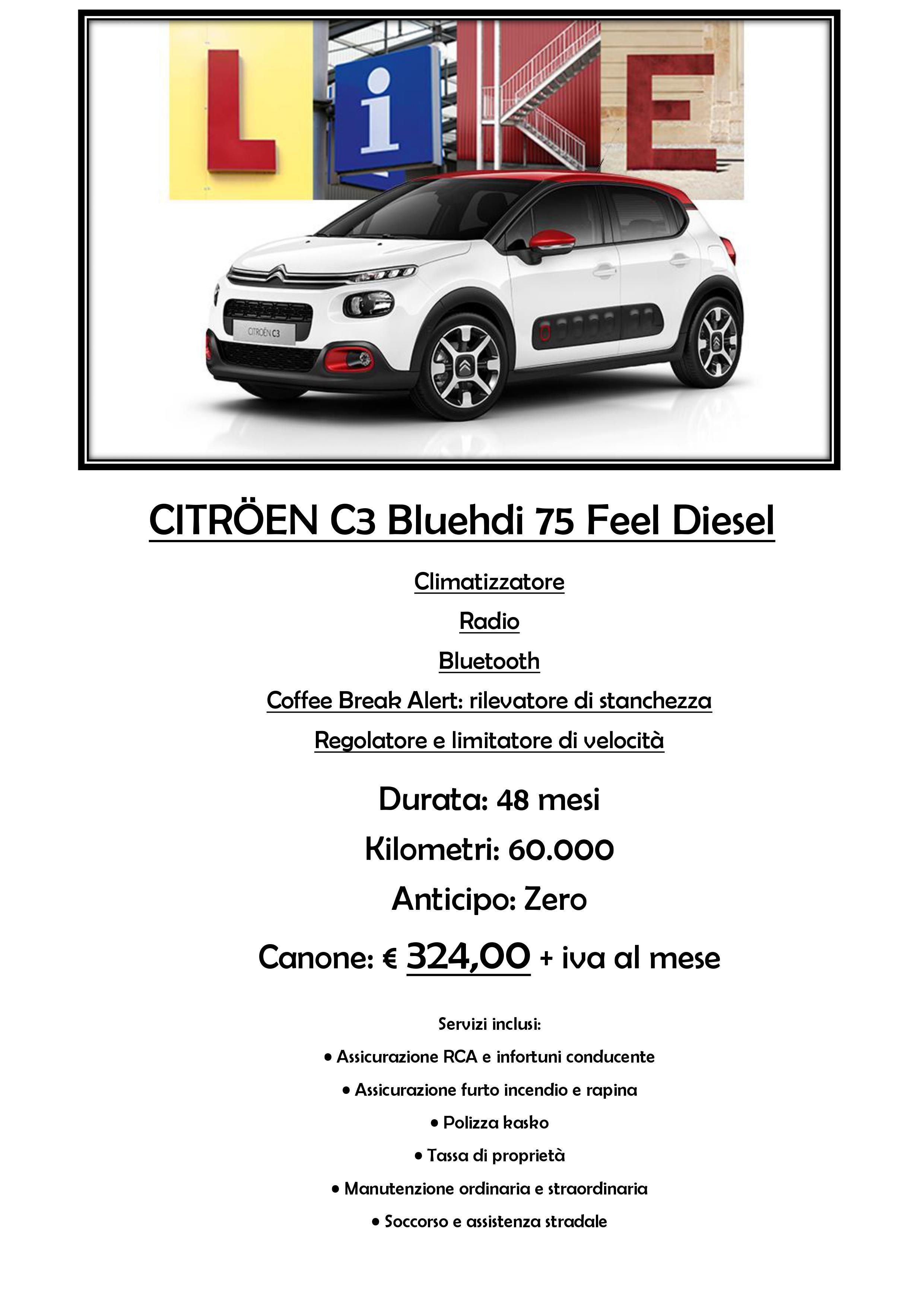 promozione Citroen C3