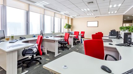 High quality office refurbishments