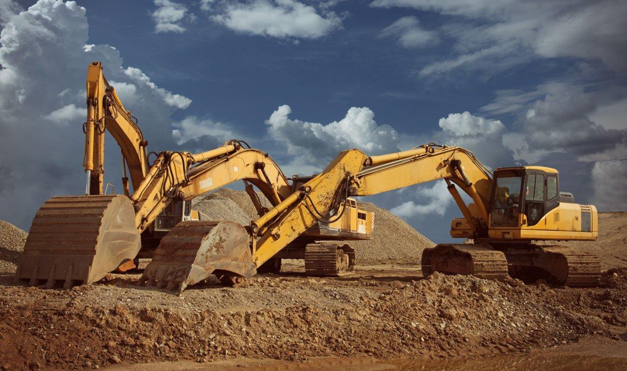 yellow groundwork equipment