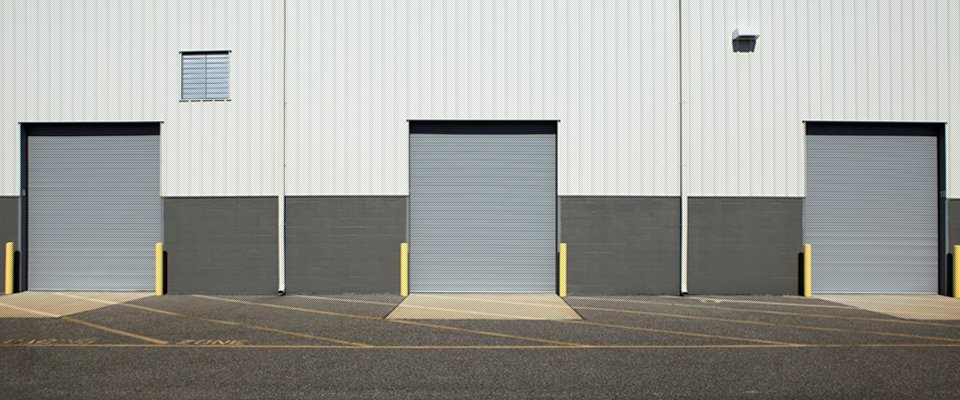 warehouse door installation