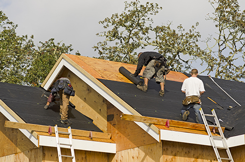 Professional installation the roofing in Miamisburg , OH