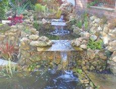 artificial water fountain