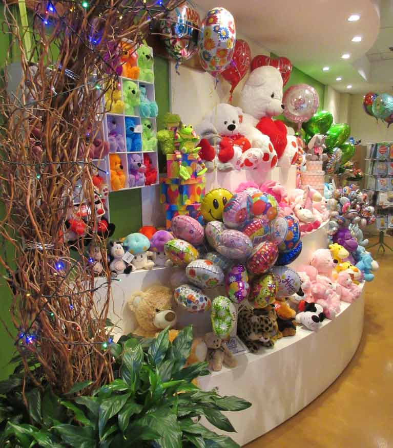 Erindale florist inside view of shop