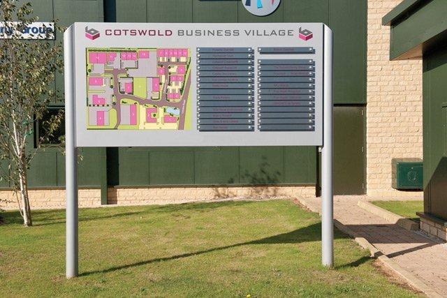 cotswold business village map