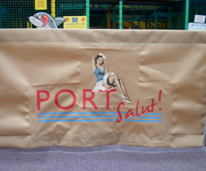 Port Salut sign