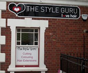 hairdresser shop sign
