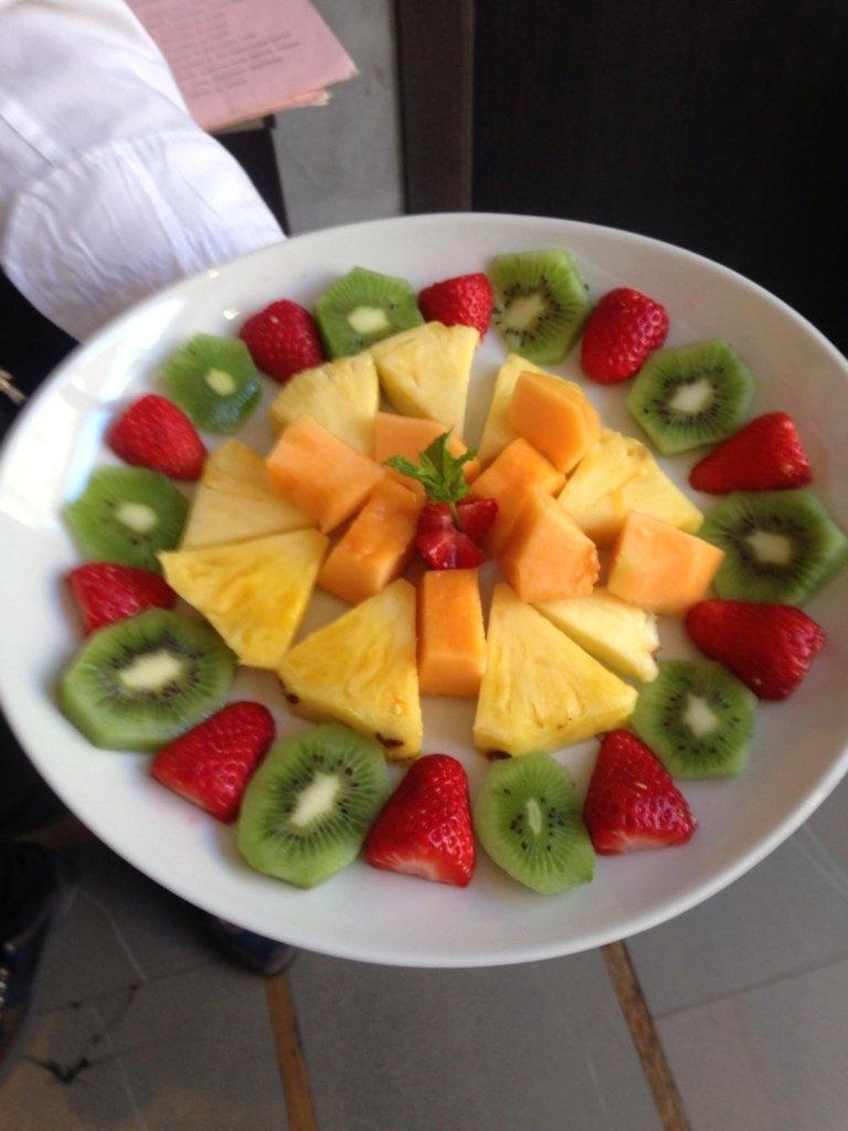 Macedonia e frutta fresca