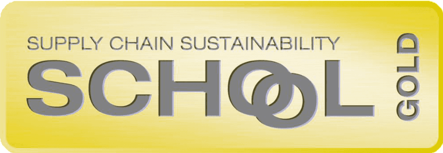 Gold membership of The Supply Chain School of Sustainability