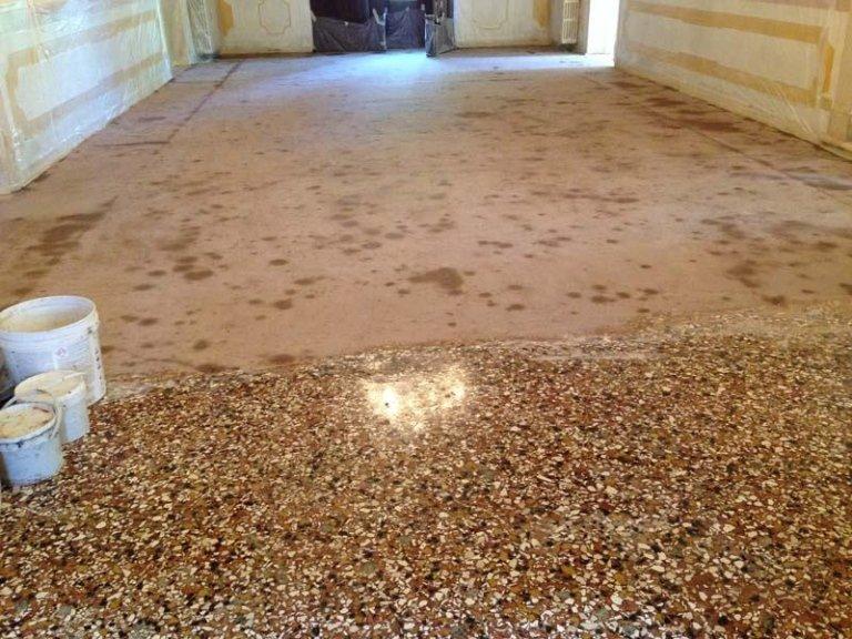 Restauro pavimenti antichi - Treviso - Dal Pozzo Mario