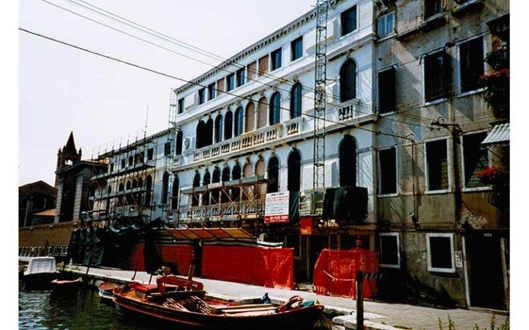 cantiere di Palazzo Rizzi