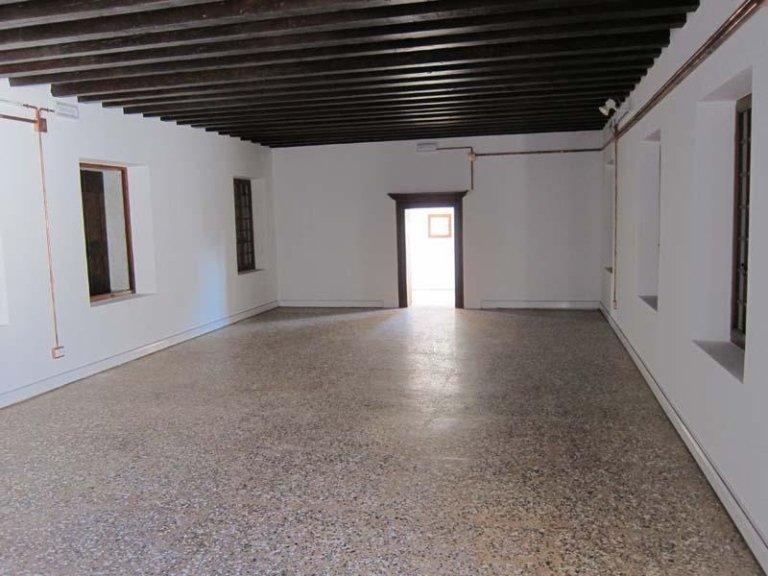 restauro di pavimento in terrazzo alla veneziana