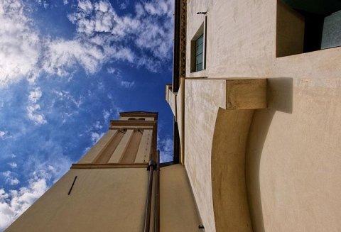 Il campanile restaurato. Foto di Paolo Monello. Progetto e D.LL Arch. Rigo Gianni