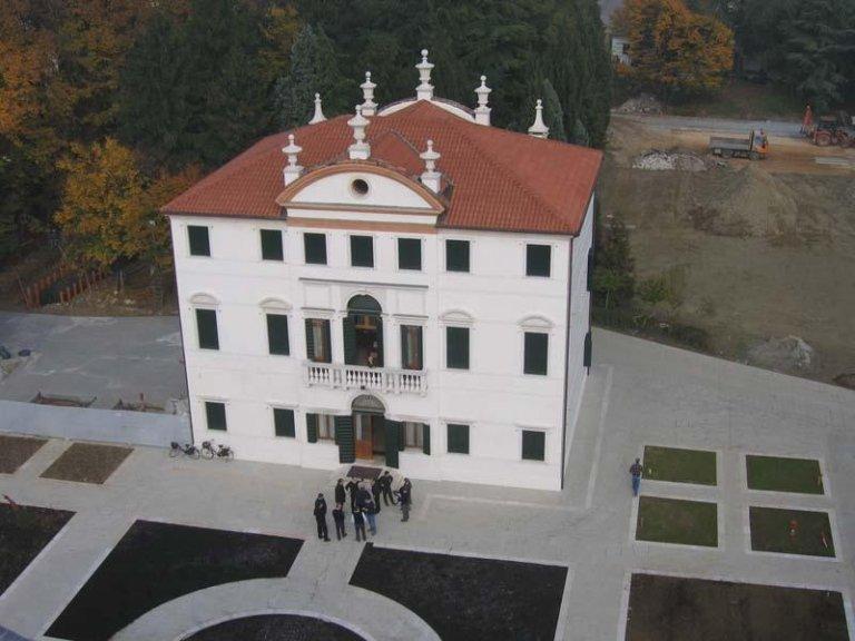 Villa Angaran Grimani Zini dopo il restauro