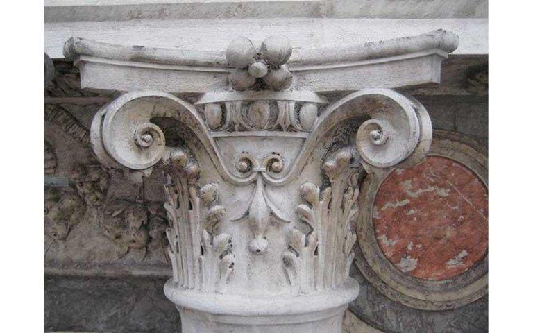 Capitello dopo il restauro